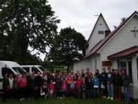 Izdale Nāriņciema baptistu baznīcā