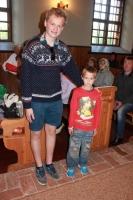 Toms Gross ar mazo puiku Kolkā