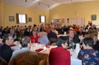 Vairāk kā 130 viesi sveic mācītāju Vitautu Grīnvaldu